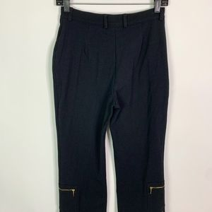St. John Sport by Marie Gray Pants - St. John Sport Pants Women's 4 Black Straight Leg